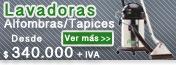 LAVADORAS DE ALFOMBRAS Y TAPICES