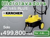 HIDROLAVADORA AGUA FRIA KARCHER HD 585 PLUS BRASIL