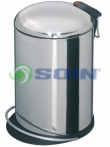 BASURERO ACERO INOXIDABLE 16 L
